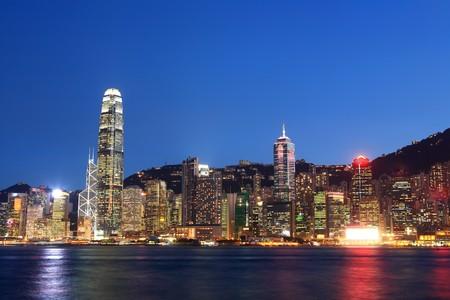 Hong Kong cityscape Stock Photo - 8215586