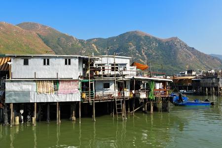 Tai O, fishing village in Hong Kong photo