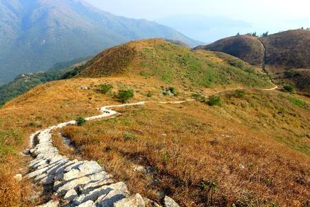 twisting mountain path Stock Photo - 8482291