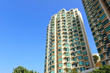 apartment blocks: apartment building