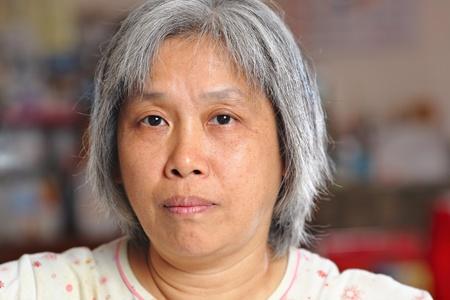 middleage chinese woman photo
