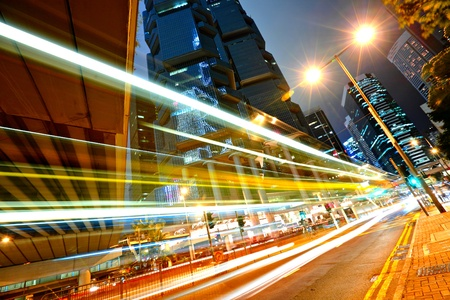city by night: modern city at night