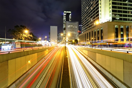 modern city at night Stock Photo - 9040704
