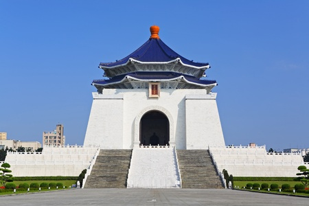 shek: chiang kai shek memorial hall