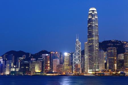 Hong Kong Skyline Stock Photo - 9453874