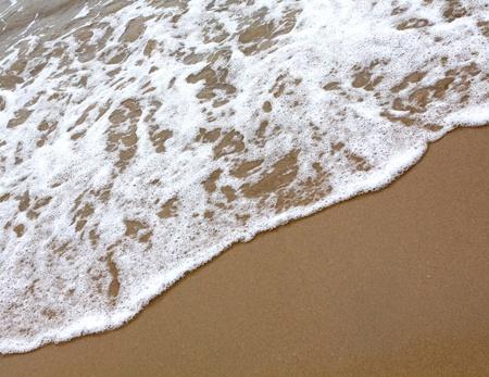 Sand beach water background Stock Photo - 9601943