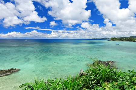 tropics: beautiful sea Stock Photo