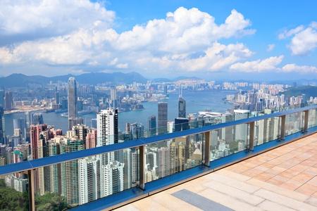 observation: observation deck in Hong Kong