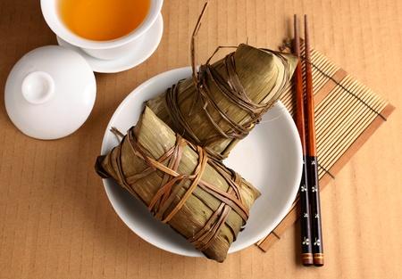 laotian: Rice dumpling for dragon boat festival Stock Photo