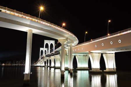 Sai Van bridge in Macao photo