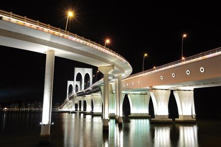 Sai Van bridge in Macao photo