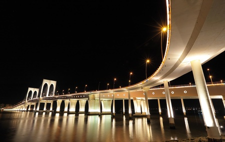 Sai Van bridge in Macau Stock Photo - 9996333