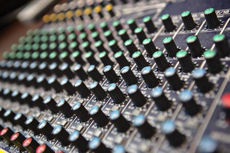 sound mixer Stock Photo - 9996210