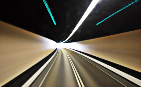 highway tunnel photo