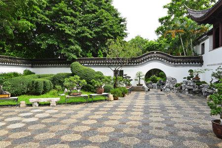 ponte giapponese: giardino cinese Editoriali
