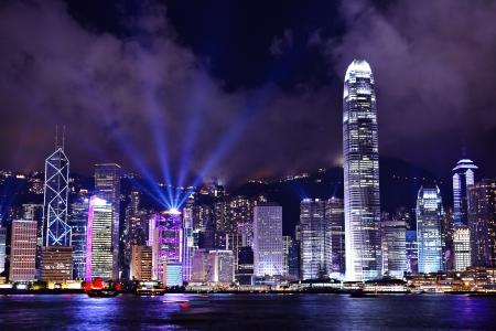 ports: Hong Kong di notte