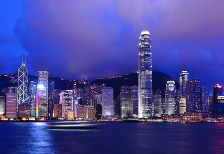 Hong Kong Skyline Stock Photo - 10007893