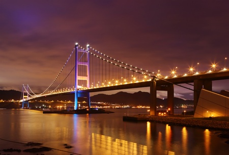 Tsing Ma Bridge Stock Photo - 9996445
