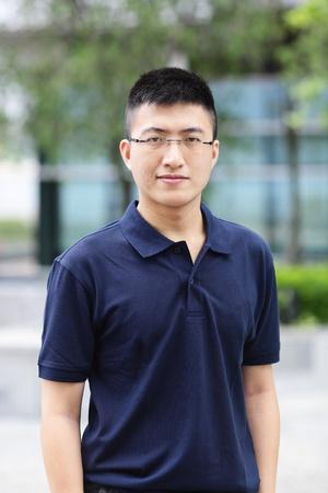 asian guys: young asian man