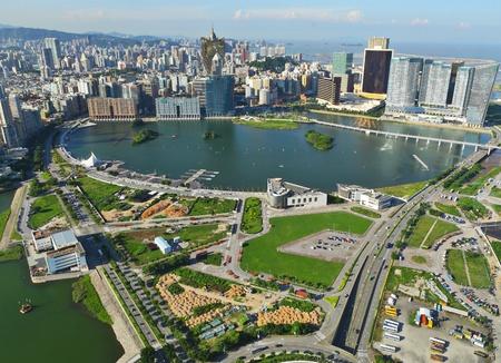view of Macau Stock Photo - 10118330