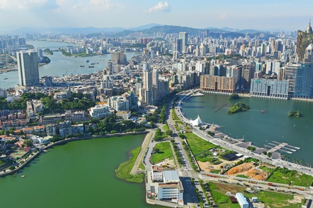 Macao city view photo