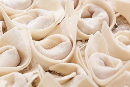 Fresh hand made Chinese dumpling photo