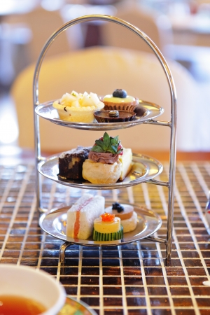 high tea: high tea set