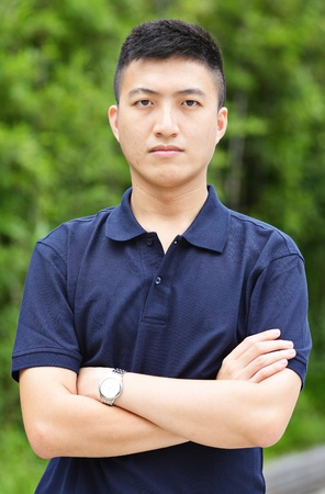 young chinese man photo