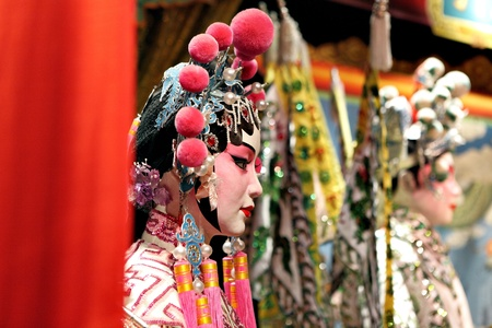 theatre costumes: chinese opera dummy