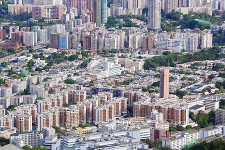 Hong Kong crowded building Stock Photo - 10397606
