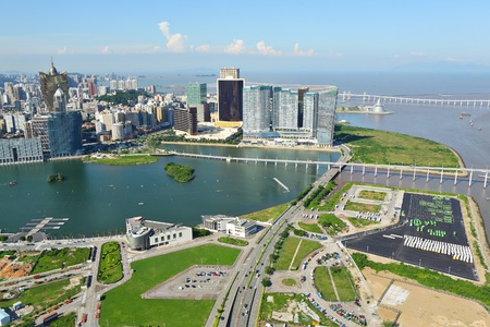 Macao city view Stock Photo - 10616987