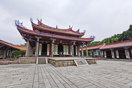 taipei: Confucius Temple , Taiwan Stock Photo