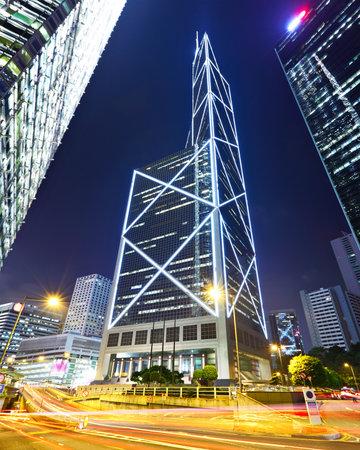 Modern urban landscape at night Stock Photo - 10693686