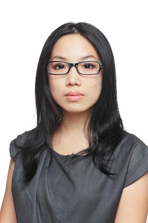 clearness: portrait of asian businesswoman
