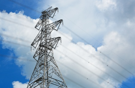 power transmission tower Stock Photo - 10765862