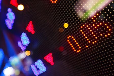 Display of Stock market Stock Photo - 10765897