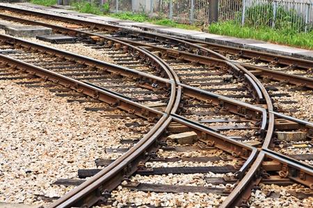rails Stock Photo - 10793711
