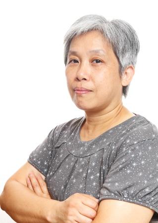 mature asia woman Stock Photo - 10847568