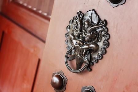 lion door lock Stock Photo - 10847722