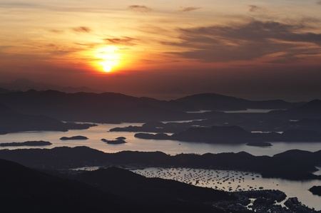 Sai Kung at morning, Hong Kong photo