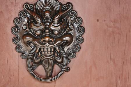 lion door lock Stock Photo - 10847784