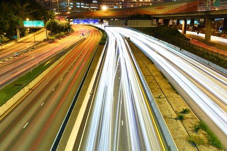 night city traffic Stock Photo - 10936852