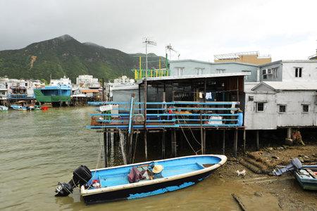 Tai O, fishing village in Hong Kong