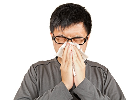 cough: sneeze man