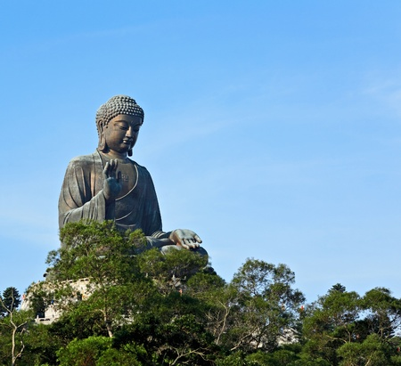 Big Buddha in Hong Kong photo