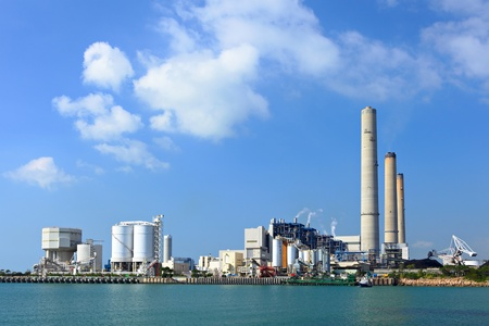 Coal fired electric power plant Stock Photo - 11652373