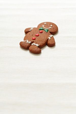 Christmas Gingerbread Man photo