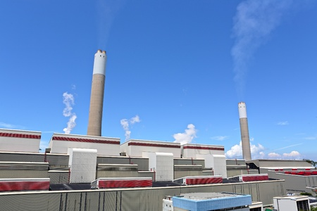 Coal fired electric power plant Stock Photo - 11712211