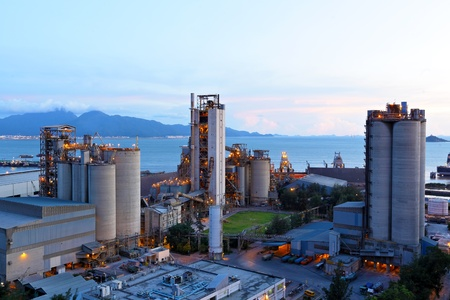 silo: cement factory