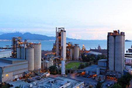 cement: cement factory